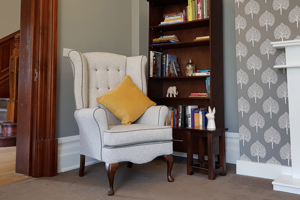 Easy Chair in rehab sitting Room